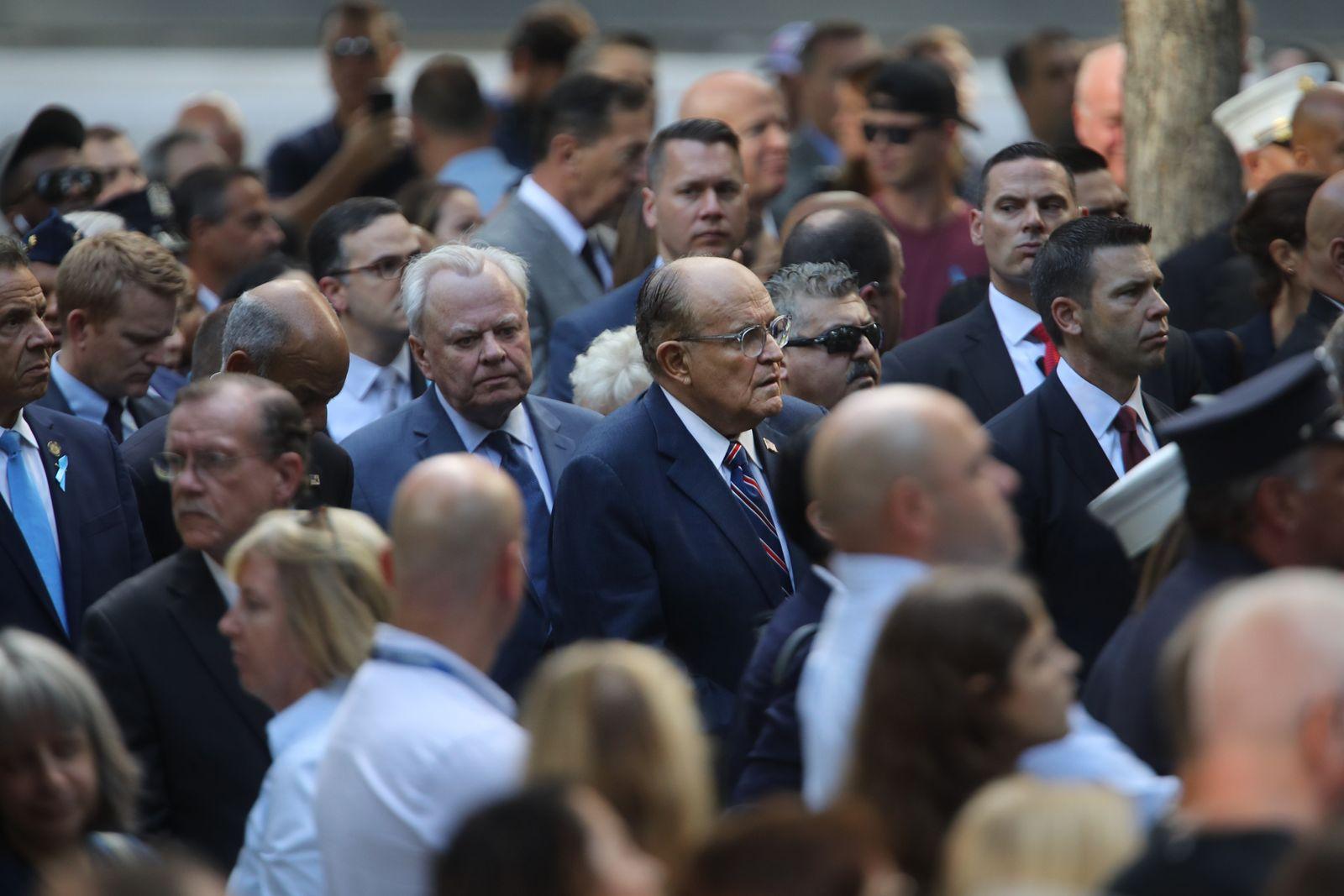 9/11 Gedenken 2019/ Rudolph Giuliani