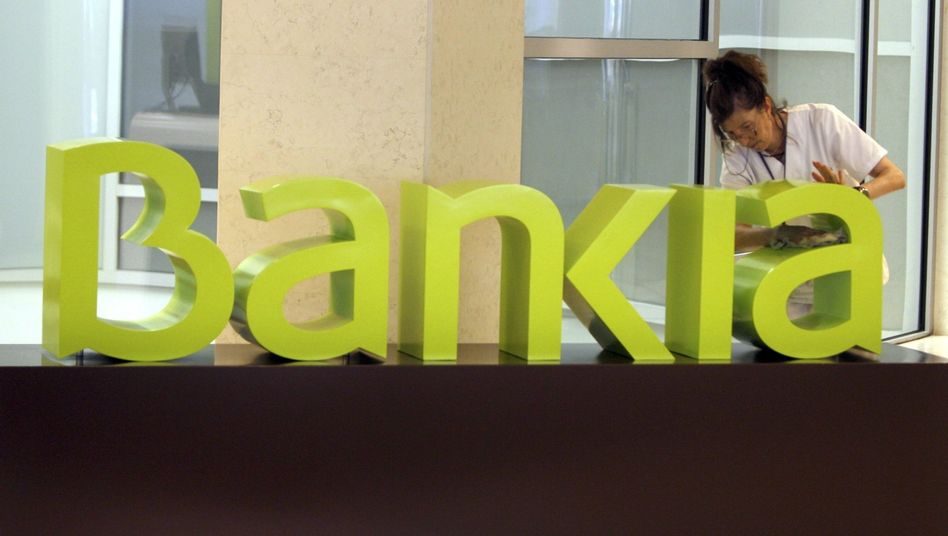 Spanish banks are in trouble, led by Bankia.
