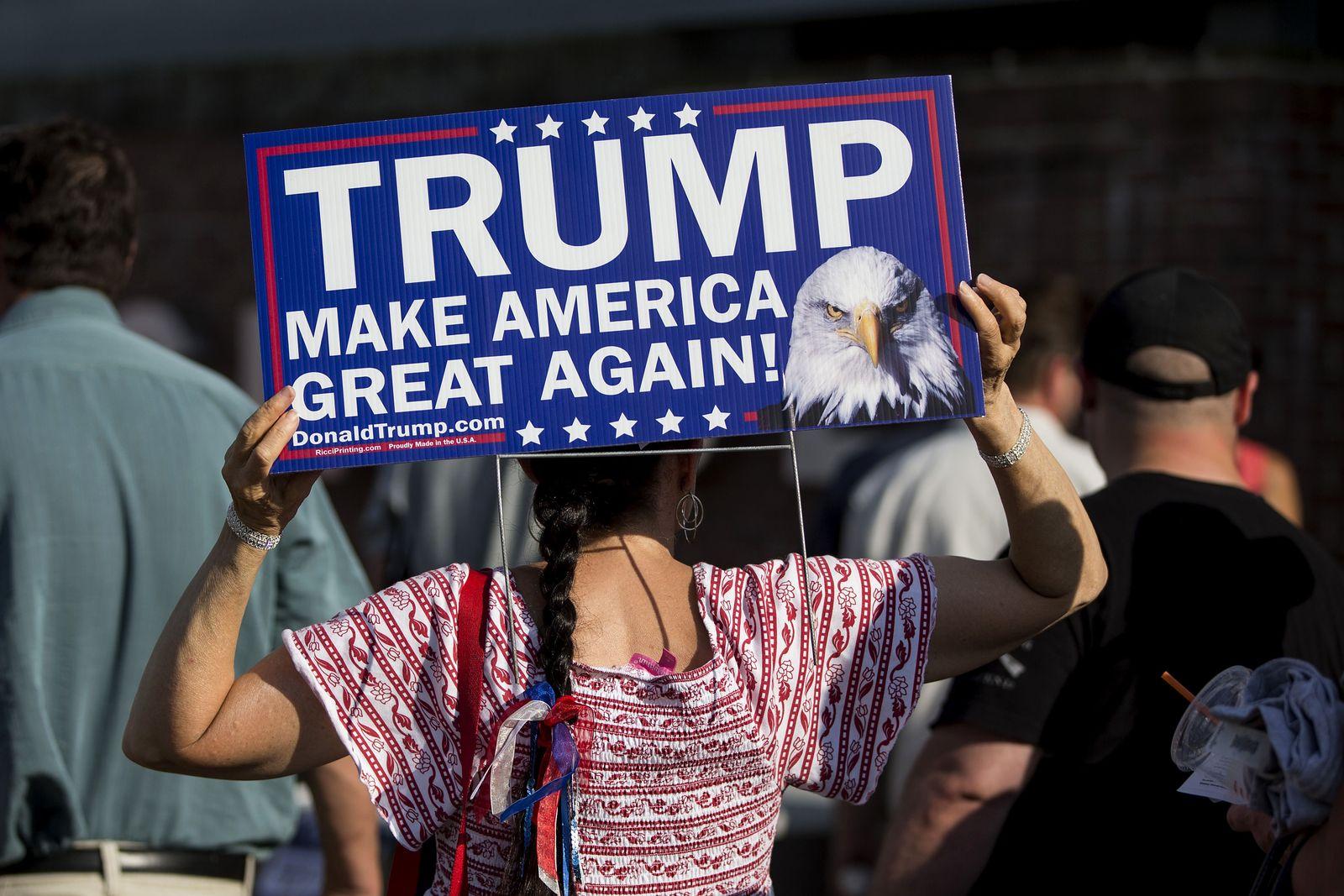 Anhängerin von Donald Trump