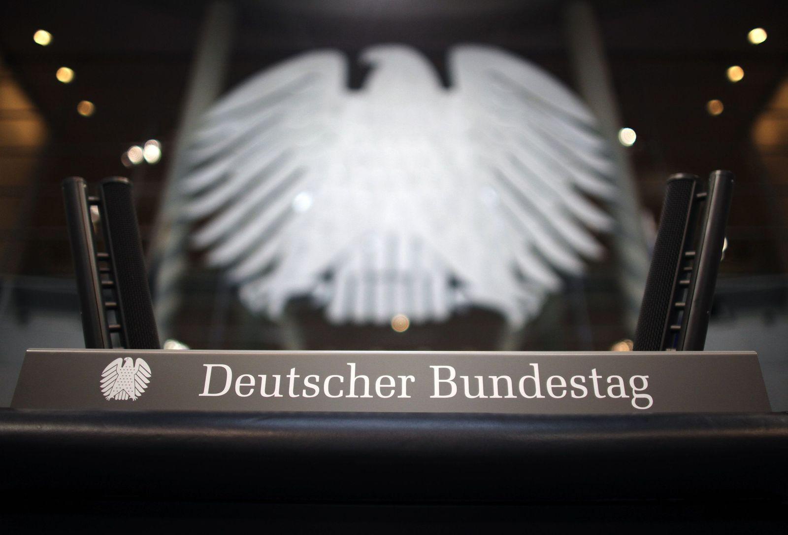 Plenarsaal Bundestag