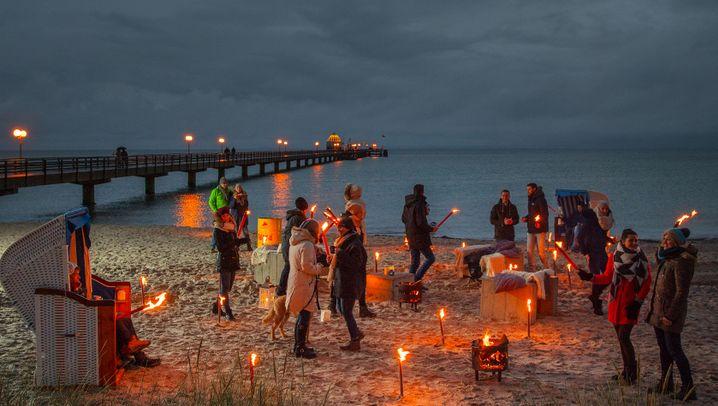 Oktober und November: Lichtfestivals in Deutschland