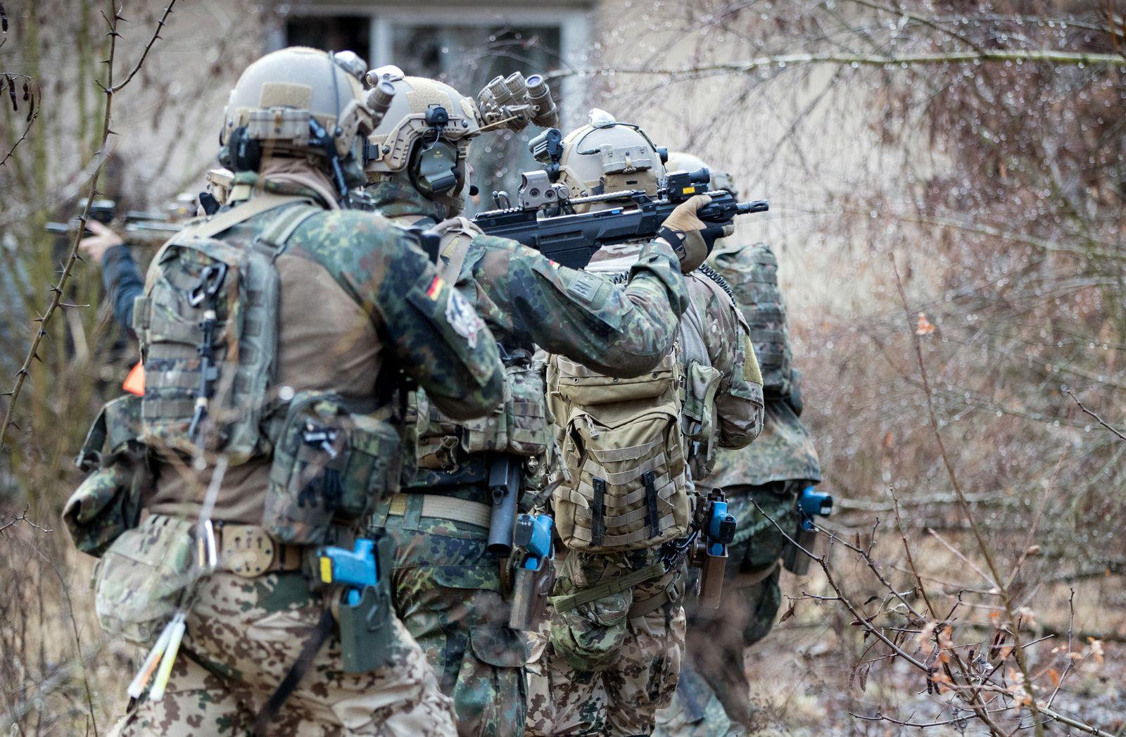 Bundeswehr KSK Übrung