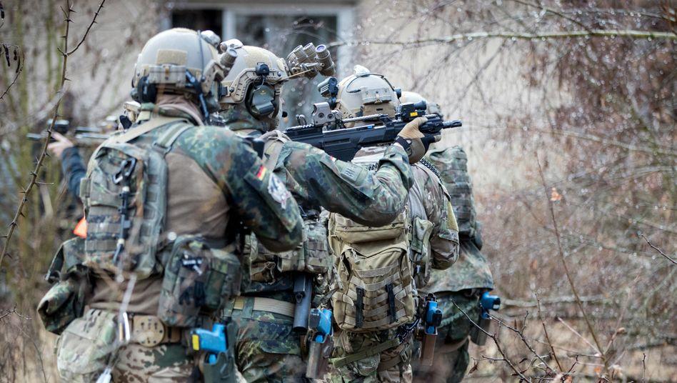 Bundeswehrsoldaten des »Kommandos Spezialkräfte« (Archivbild)