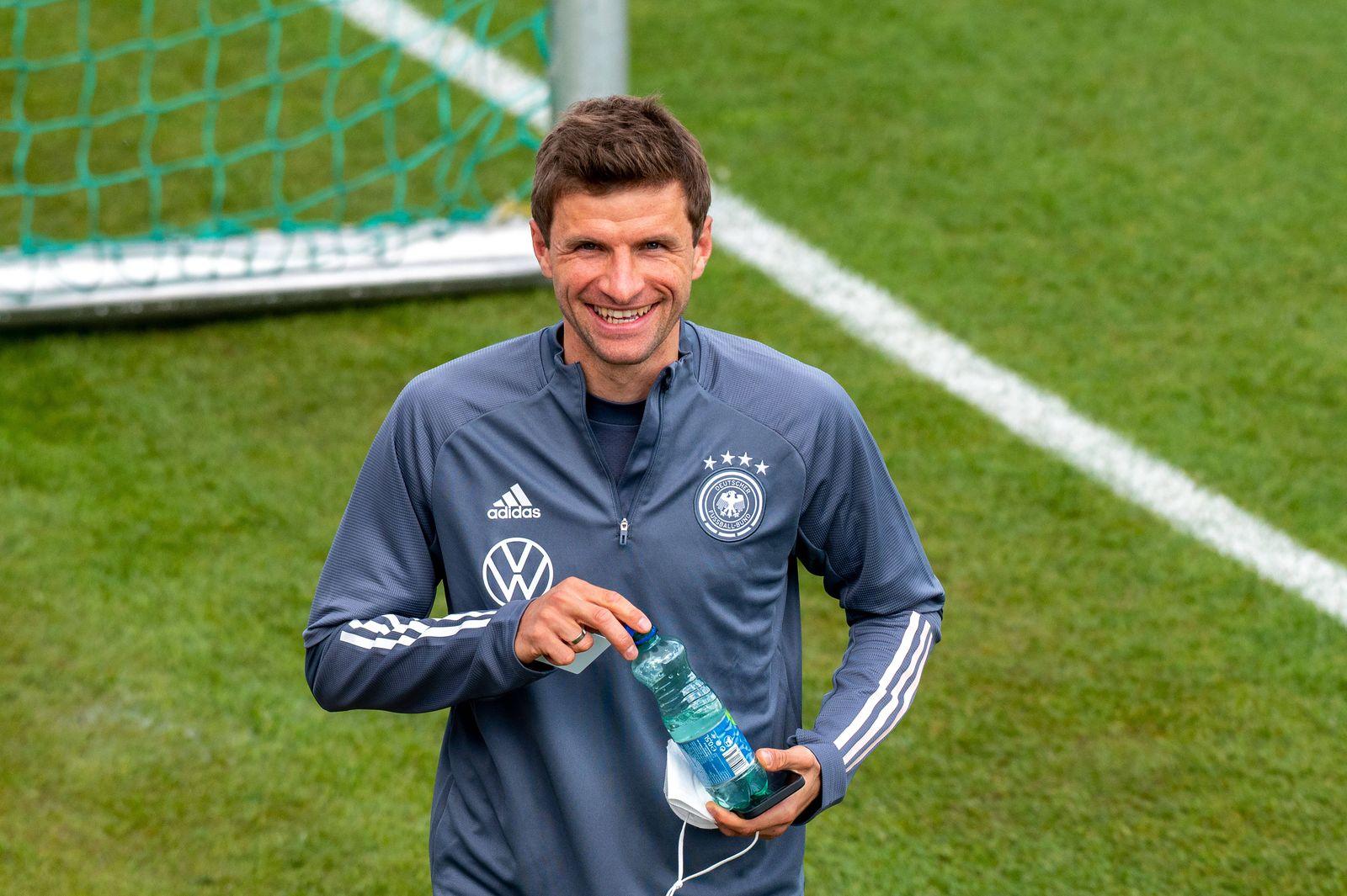 Thomas Müller (GER). Oesterreich, Seefeld, 29.05.2021, Fussball, Deutsche Nationalmannschaft, Euro2020, Trainingslager,