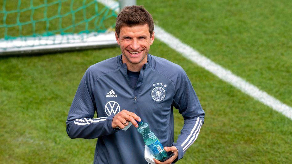 Thomas Müller hat allen Grund zu grinsen