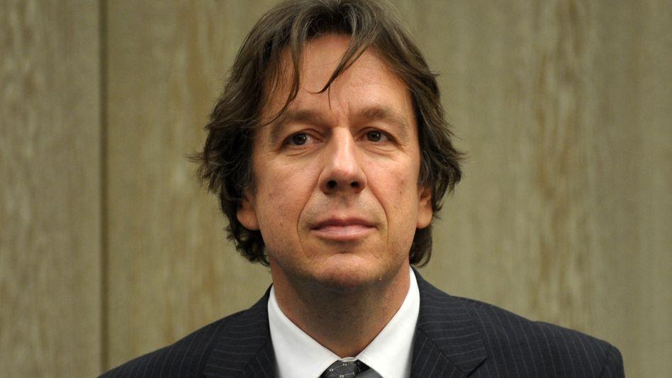 Jörg Kachelmann (Archivbild): Ring an der linken Hand