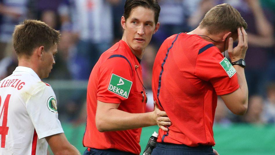 Abgebrochenes Pokalspiel Osnabrück gegen Leipzig: 2:0 für RB
