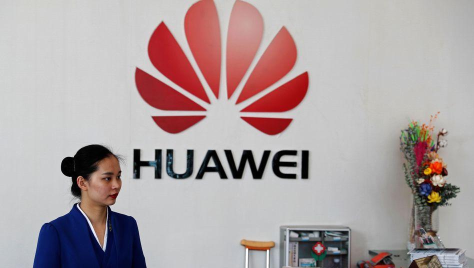 Huawei-Niederlassung in Shenzhen, China