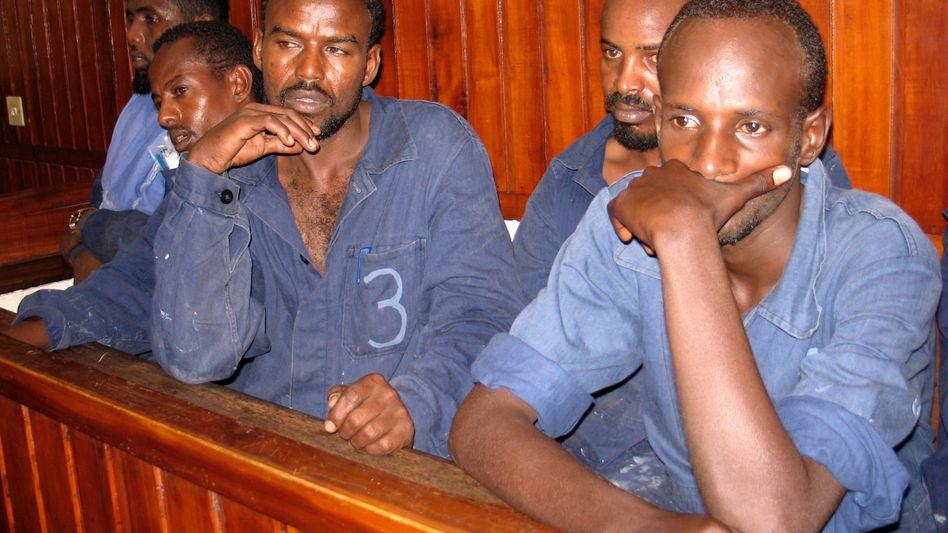 """Inhaftierte Piraten in Mombasa: Haft entspricht nicht """"völkerrechtlichen Mindeststandards"""""""