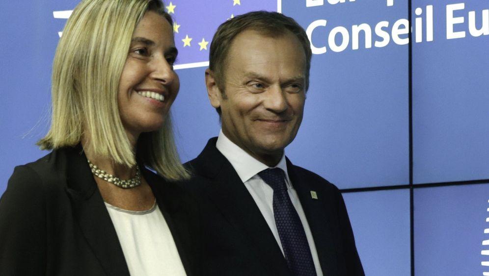 EU-Spitzenposten: Wer sind Tusk und Mogherini?