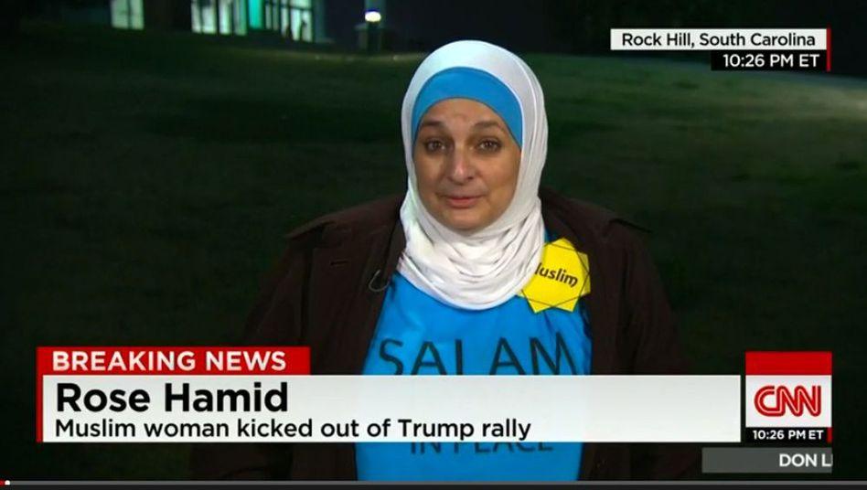 Rose Hamid: Ein einfacher Stern machte sie zum Symbol