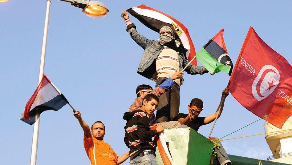 Demonstranten in Kairo: Zorn über die Ungerechtigkeit