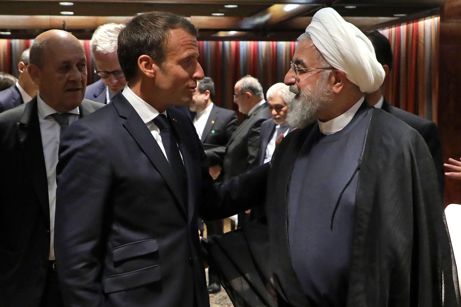 Hassan Rohani Macron