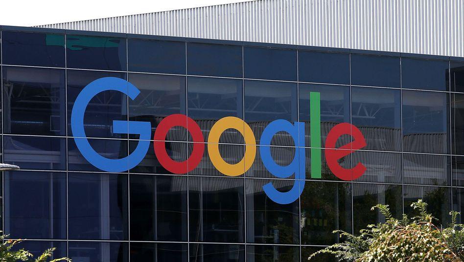 Google-Hauptquartier in Mountain View, Kalifornien