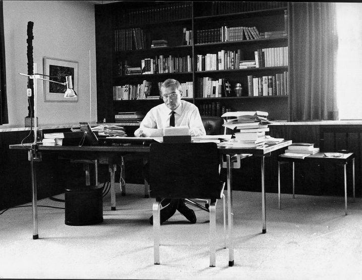 Herausgeber Augstein in Hamburg 1965