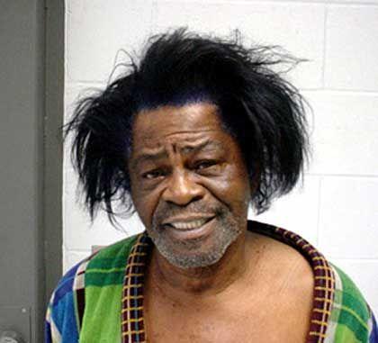Polizeifoto: US-Soul-Legende James Brown wurde wegen häuslicher Gewalt verhaftet