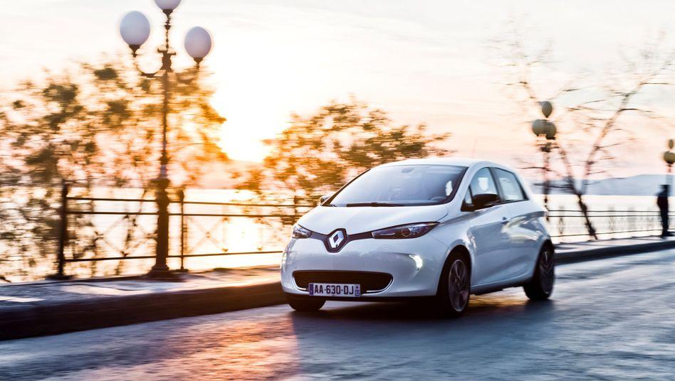Renault Zoe: Konto leer, Akku leer.