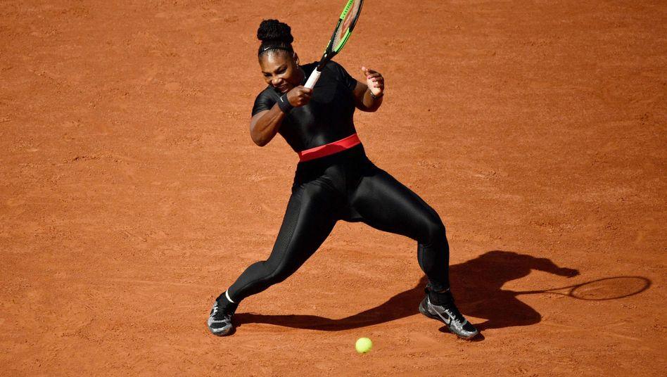 Serena Williams bei den French Open