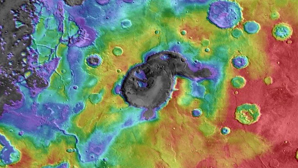 Supervulkane: Arabias Feuerberge auf dem Mars
