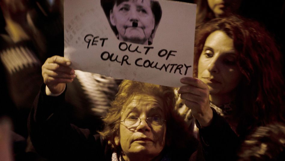 Demonstration in Zypern: Die Germanophobie zeigt, wie das europäische Projekt zerfällt