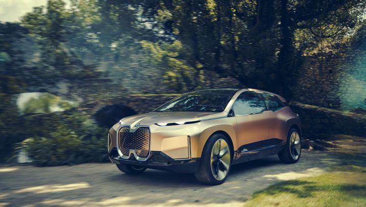 BMW iNext: Ganz schön abgehoben
