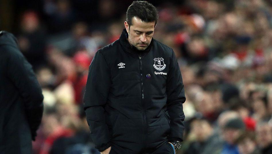 Marco Silva war 18 Monate beim FC Everton tätig