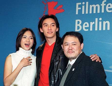 Berlin im Betel-Rausch: Regisseur Lin Cheng-Sheng (r.) und seine Darsteller