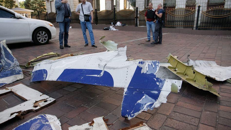 MH17-Trümmerteile: Viele offene Fragen