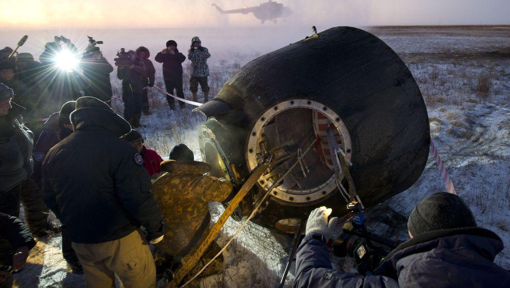 Sojus-Flug: Landung im Morgengrauen