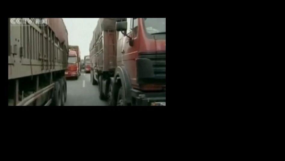 Chinas Verkehrsprobleme: Der Superstau ist wieder da
