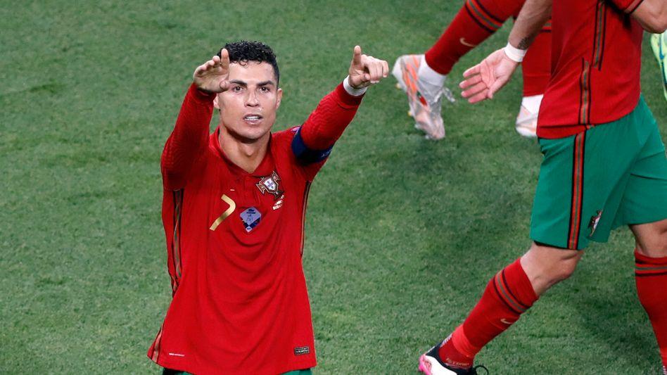 Cristiano Ronaldo jubelte über seine Treffer