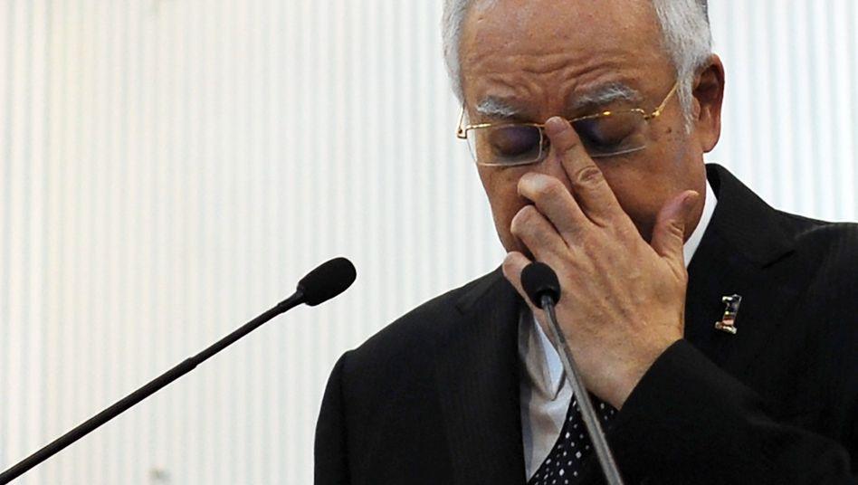 Malaysias Ministerpräsident Najib Razak