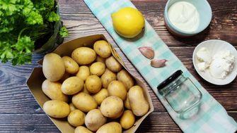 TikTok-Kartoffeln mit Knoblauchöl – für 99 Cent