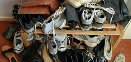Schuhhaufen: In manchen WGs wohnen ausschließlich Messies