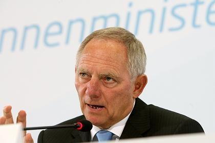 """Gibt den """"Bundestrojaner"""" nicht auf: Bundesinnenminister Wolfgang Schäuble"""