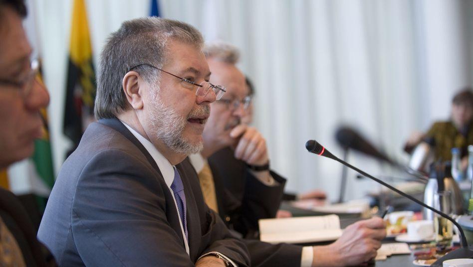 Kurt Beck kündigte seine Klage am Donnerstag auf der Ministerpräsidentenkonferenz an