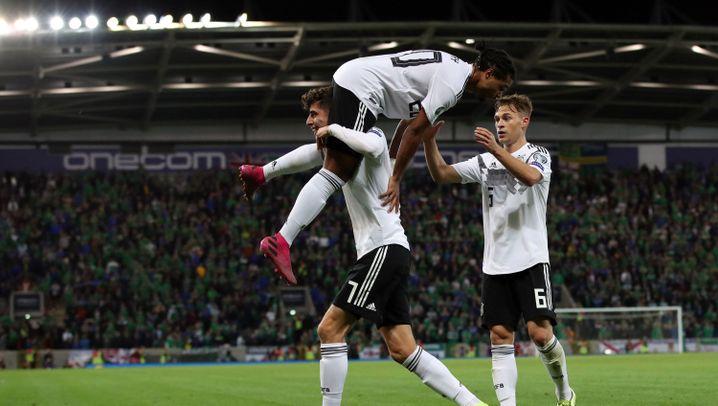 DFB-Sieg in Nordirland: Nach der Pause wurde es besser