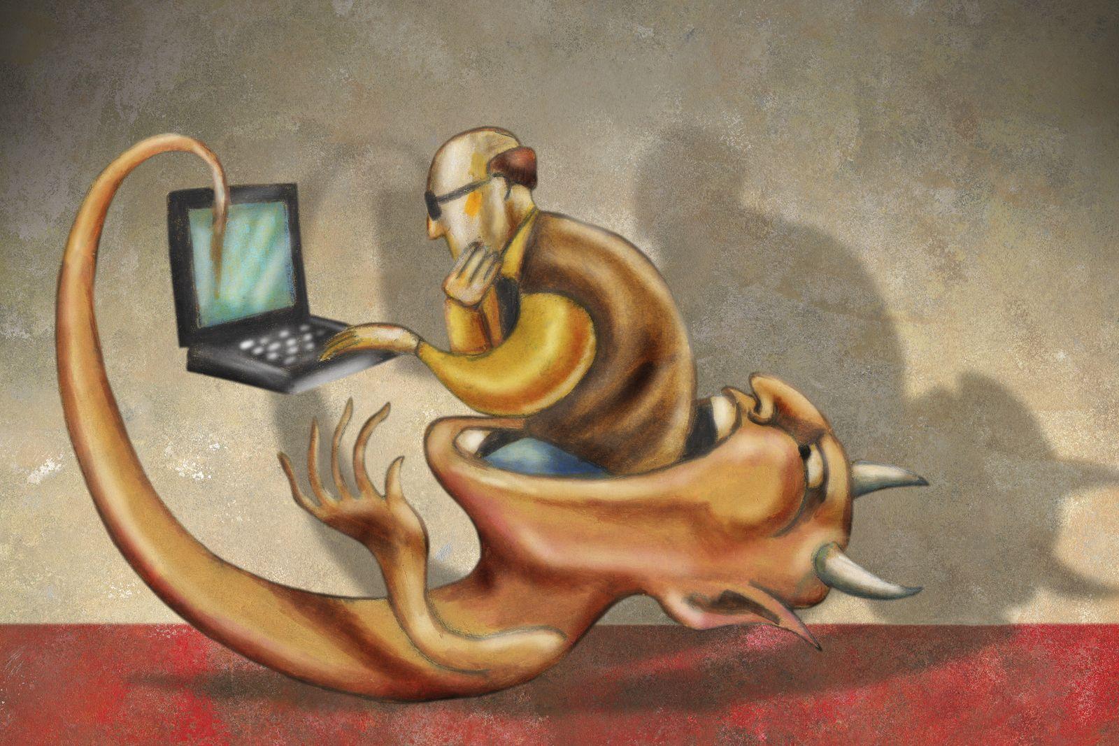 NICHT MEHR VERWENDEN! - Symbolbild / Computer Virus