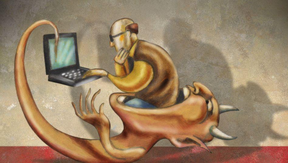 Gefahr Computerviren: Möglichst schnell möglichst viel Geld ergaunern