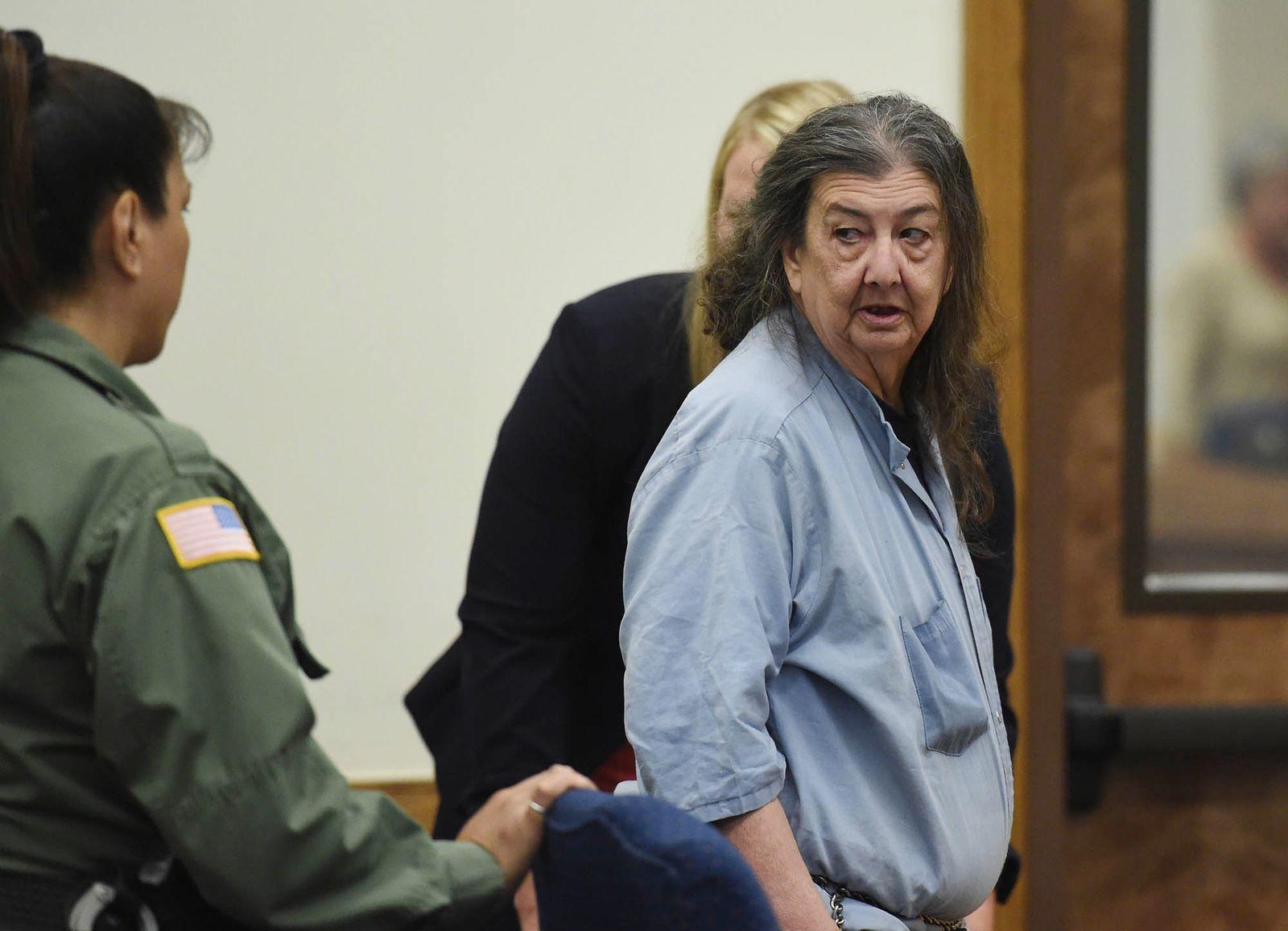 EINMALIGE VERWENDUNG Gefängnis/ unschuldig/ Cathy Woods/ USA