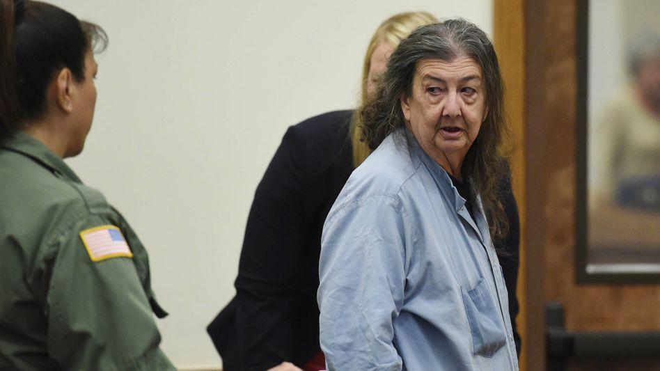 Cathy Woods vor einem Gericht im Jahr 2014: Keine Frau saß laut einem Nationalregister zu Rehabilitierungen länger unschuldig in Haft als sie.