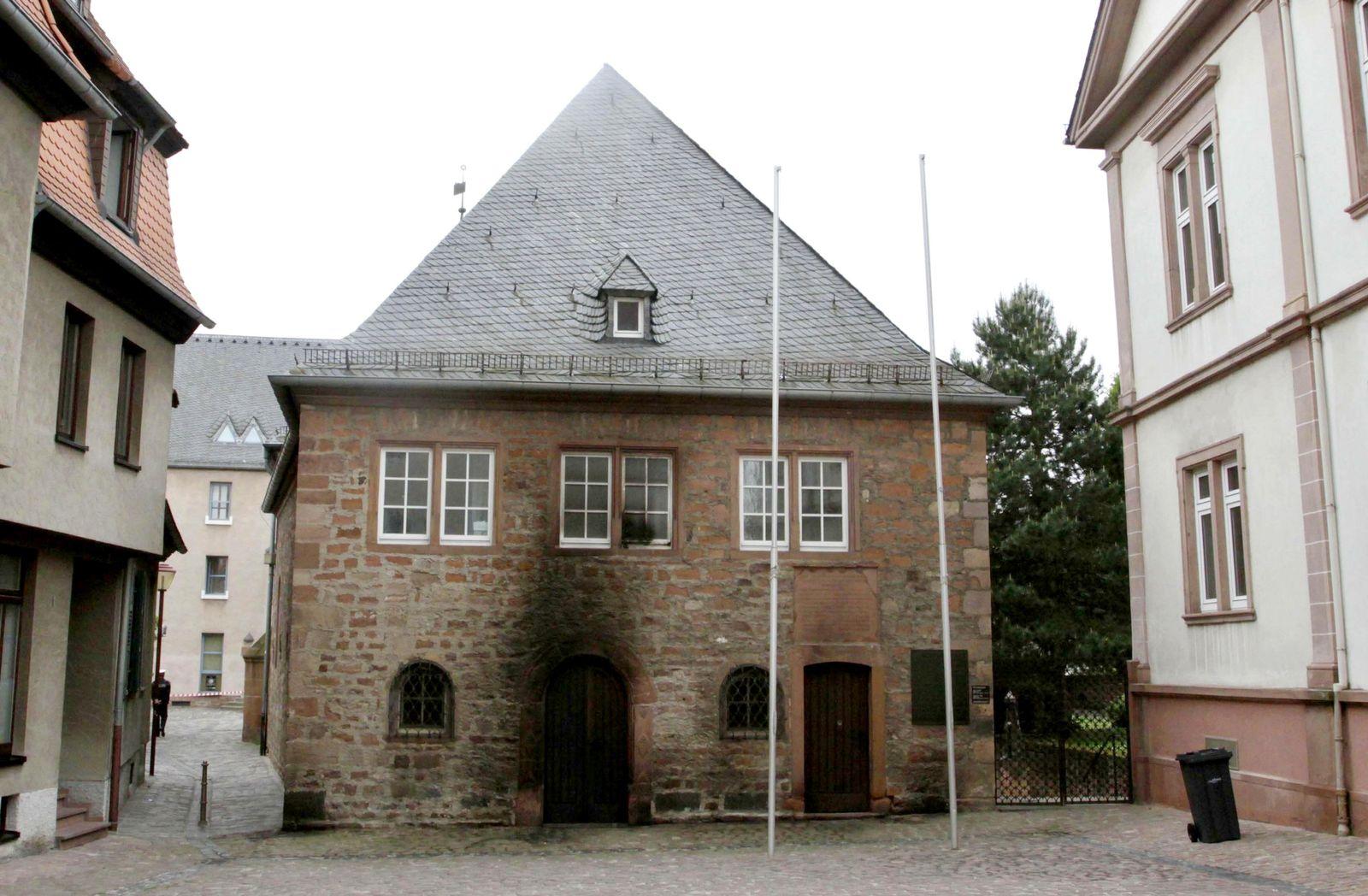 NICHT VERWENDEN Brandanschlag auf Wormser Synagoge veruebt