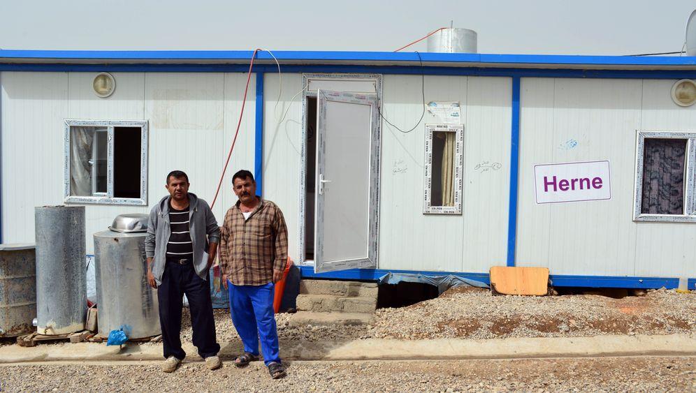 Flüchtlingscamp Ruhrgebiet: Ein Dorf aus 70 Containern