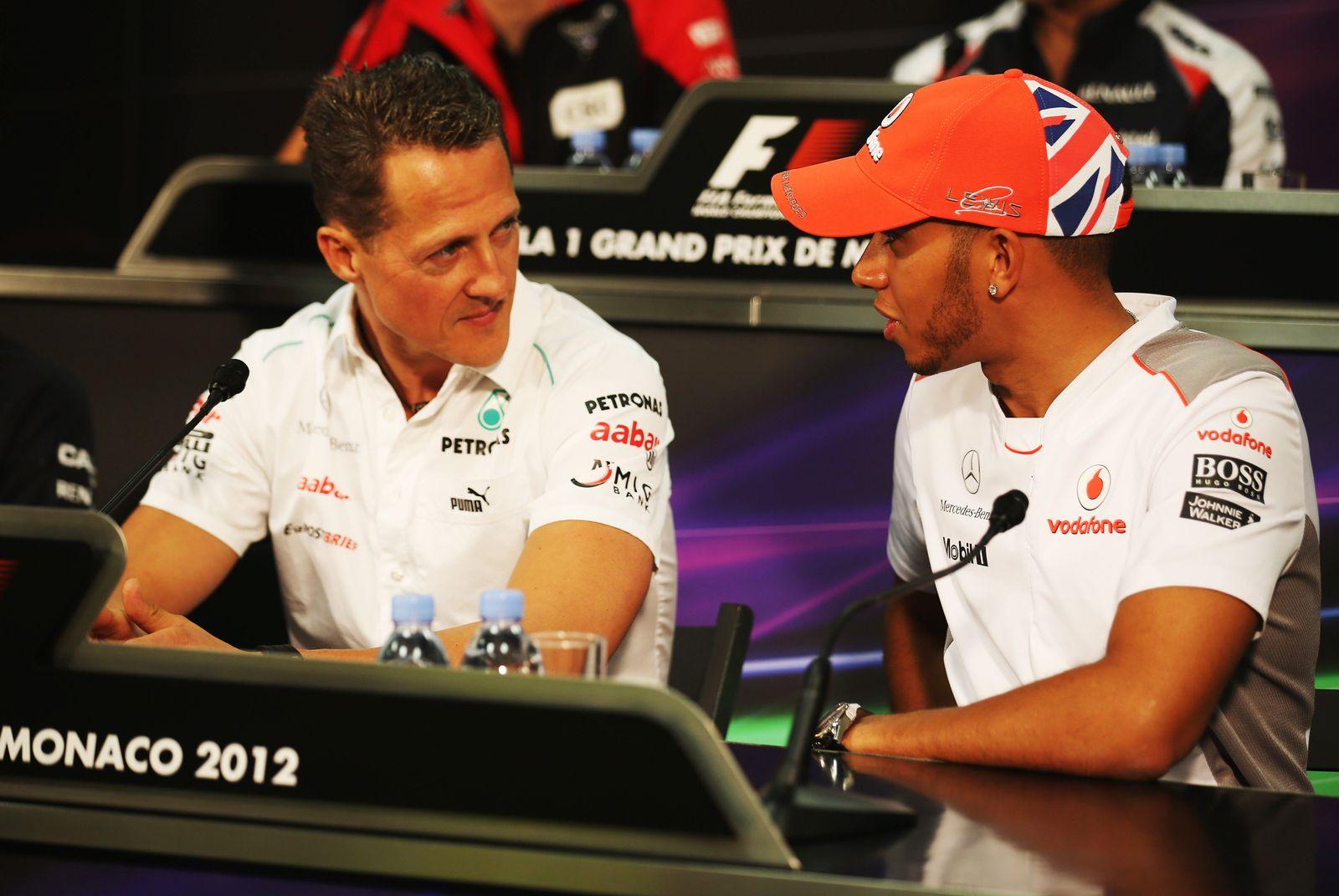 Michael Schuhmacher / Lewis Hamilton