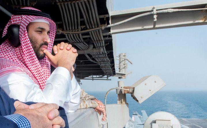 Saudischer Prinz bin Salman