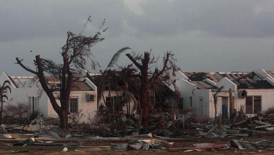 Hurrikan-Folgen in Sint Maarten