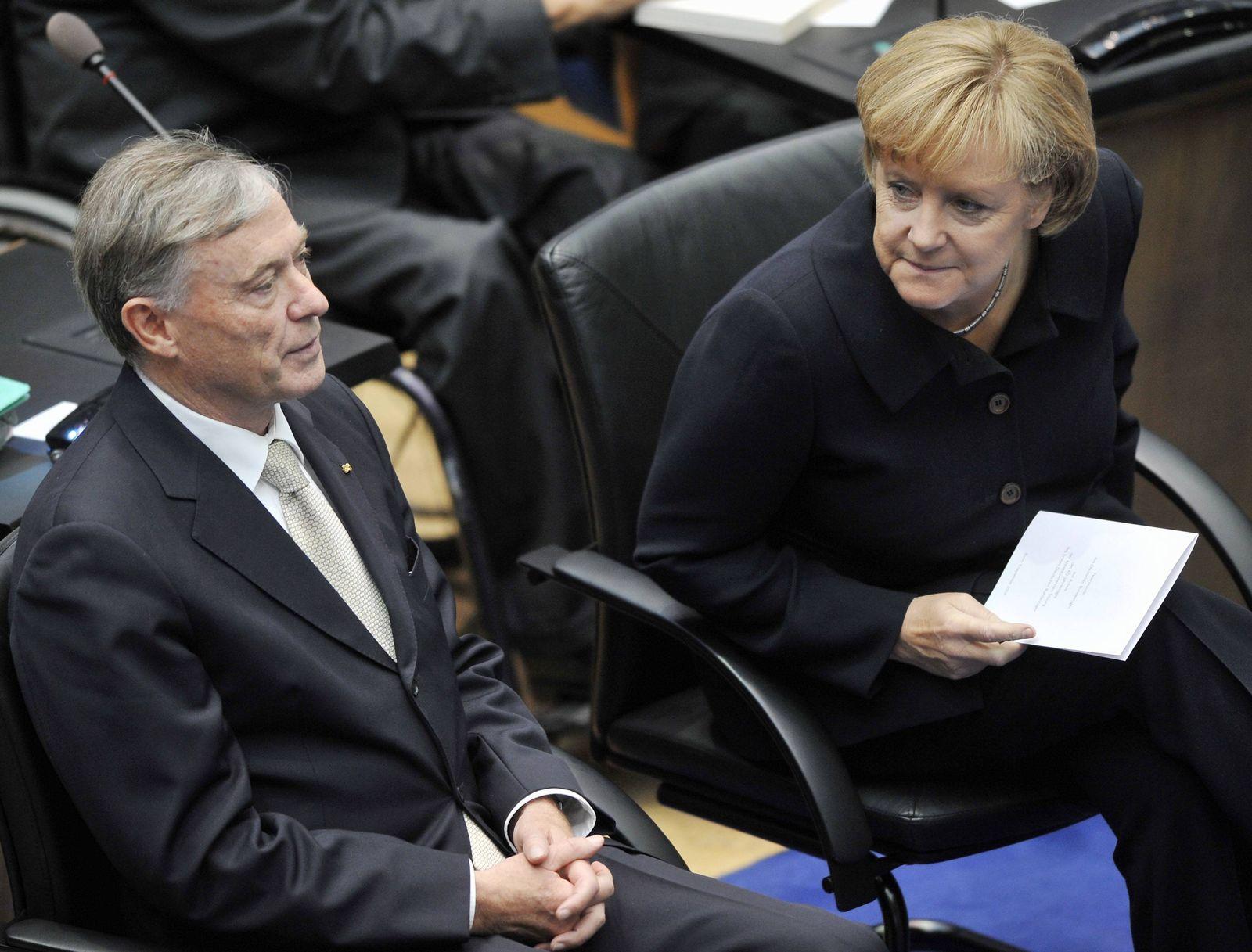 NICHT VERWENDEN Merkel / Köhler