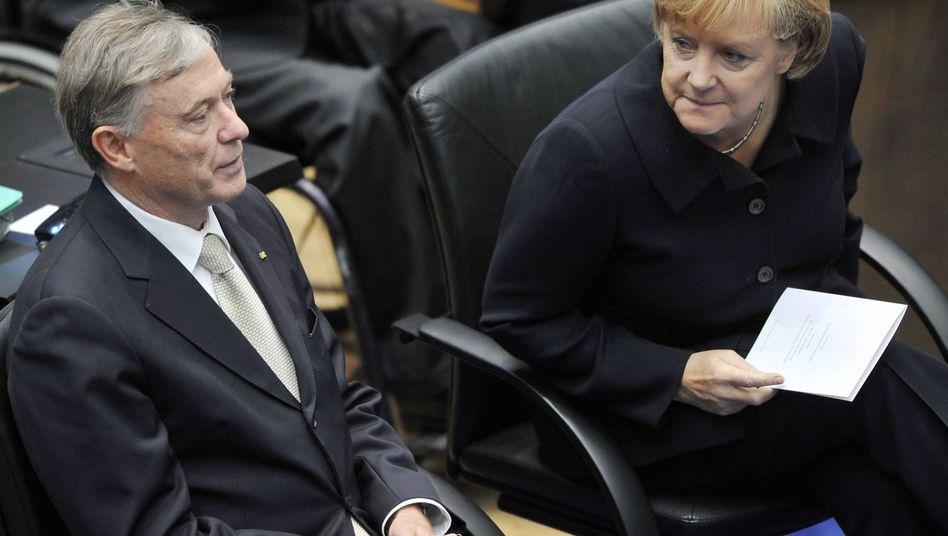 Köhler und Merkel: Parteistrategen suchen Figuren aus, die koalitionspolitisch passen