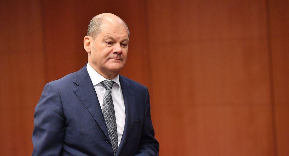 Wollte nicht allen helfen: Finanzminister Scholz