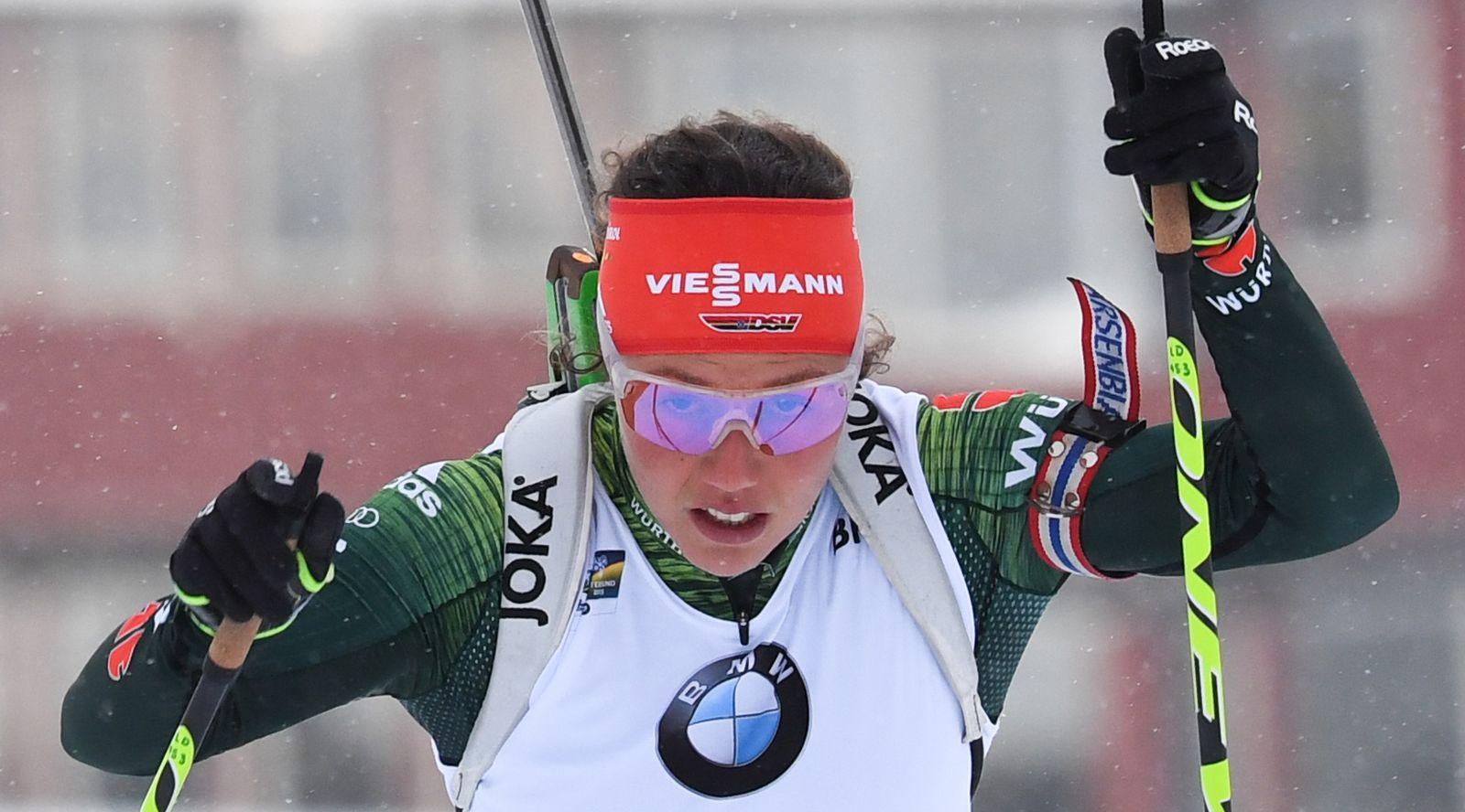 Biathlon WM Dahlmeier
